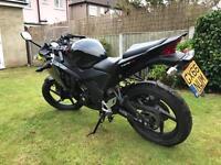 Honda cbr 125cc 66 Reg 2016 1 owner