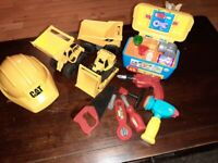 Toy tools and trucks bundle *collection only*
