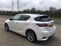 2015 lexus ct200 hybrid advance plus 1 owner from new hpi clear excellant condition