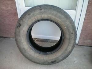 1 Motomaster Total Terrain All Season Tire * 265 70R16 112S * $30.00 .  M+S / All Season Tire ( used tire )