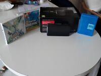 Nintendo 3DS Cosmos Black + 3 games.