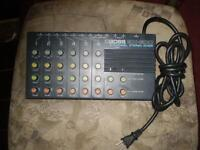 boss bx-600 (6 channel stereo mixer) rare,rare