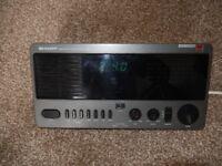 Sharp clock radio