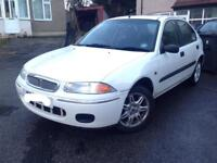 ROVER 200 STUNNING EXAMPLE//216 Sli,//214//25//RARE COLLECTORS CAR//12MONTHS MOT// ONLY 42K MILES