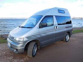 Mazda Bongo HiTop campervan in excellent condition. MOT'd until Dec 17. Recently serviced. Towbar