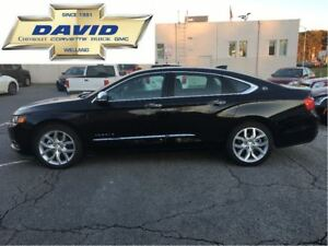 2017 Chevrolet Impala PREMIER 2LZ/ LEATHER/ POWER & HEAT SEAT/ S