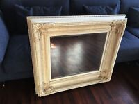 French style vintage mirror