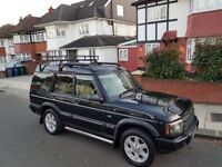 Land rover Discovery 2 ES Premium 2.5l 7 seats 101k miles part s/h. Roofrack and Bikerack included