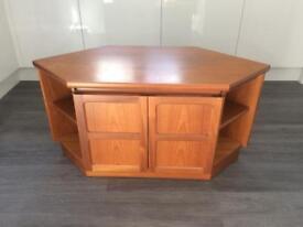 Lovely Parker Knoll Solid Wooden TV Unit / Cabinet - Vintage Item