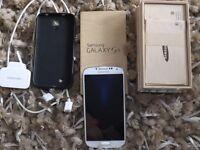 SAMSUNG S4 32GB WHITE UNLOCKED BOXED