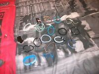 job lot of braclets