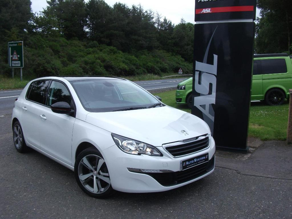 peugeot 308 1 6 hdi 115 active white 2014 in elgin moray gumtree. Black Bedroom Furniture Sets. Home Design Ideas