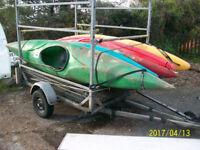 kayak glassfibre