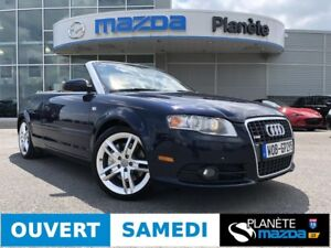 2007 AUDI A4 CABRIOLET S-LINE AUTO CUIR MAGS