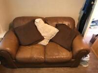 Leather sofa FREE!!!