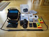Panasonic Lumix DC-FZ82 60x Zoom (20-1200) Bridge Camera and accessories