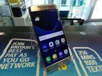 Samsung Galaxy S7 Edge, Gold, Unlocked to any network