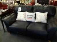 Leather Sofa BRITISH HEART FOUNDATION