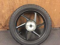 Honda cbf 125 rear wheel 2013