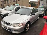 HONDA ACCORD 1.9 I-VTEC SPORT 5d 136 BHP (silver) 2001