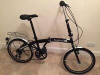 Newish)Men's/ Ladies Stowaway folding bike