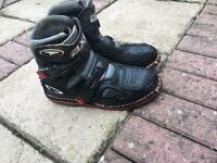 moto cross / pit bike boots
