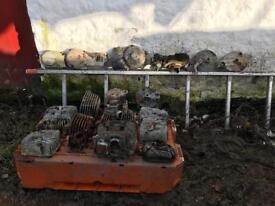 Old motorbike parts