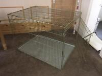 Giant Metal Dog Cage