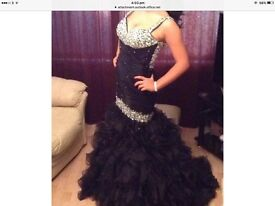 stunning one off prom dress size uk 10/12