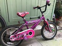 "childs bike size 16"""