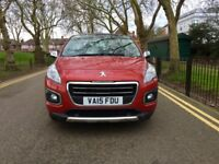 2015 Peugeot 3008 1.6 BlueHDi Allure 5dr (start/stop)| Automatic | Hpi Clear | Aslo suitable for PCO