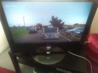 "LG32""6000 FREEVIEW TV 4 HDMI 2 USB PC SCART SWIVEL STAND REMOTE NICE TV"