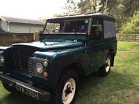 Land Rover Series III Year 1971 - has had overdirve fiited