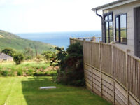 LUXURY 3 BED LODGE on 5* PARK WITH STUNNING SEA VIEWS IN CORNWALL