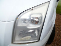 FORD TRANSIT HEADLIGHT PROTECTORS