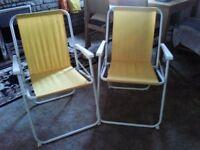 Garden /Beach Folding Chairs