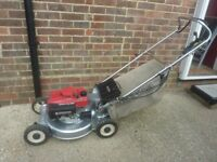 Honda self propelled mower alloy deck and direct drive shaft superb quality machine expensive new