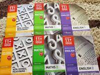 11+ BUNDLE PACK GL Assessment (NFER) - Packs 1&2 in Verbal Reason,Non-Verbal,English & Maths 8 Packs