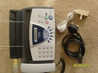 Brother fax machine T104 never been used, still boxed