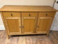 Oak Furniture- 3 pieces