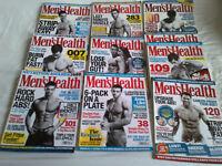 Men's Health Magazines 2008-2012