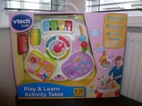 Vtech Baby Play & Learn Activity Table - Boxed in Excellent Condition