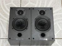 Wharfedale Diamond 9.0 Black Bookshelf Monitor Speakers