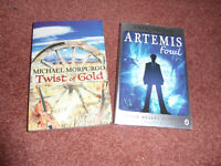 Twist of Gold and Artemis Fowl Books