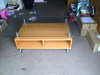 TV DVD Cabinet with Glass top