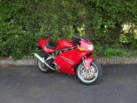 Ducati 900SS one previous owner, low mileage, full Ducati service history