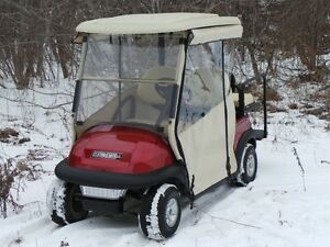 2009 club car Precedent Electric Golf Cart  Chameleon Enclosure