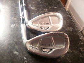 Cleveland 588 RTX wedges 50 & 54 degree lofts
