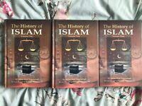 The History of Islam - Akbar Shah Najeebabadi - 3 Volume Islamic Books Set