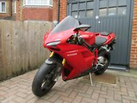 Ducati 1098S, Low mileage, FSH, Ohlins, termignonis, new tyres and some carbon bits,